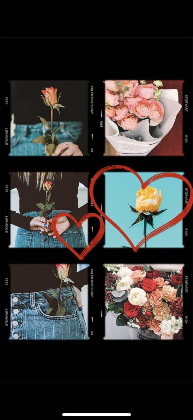 Valentine's Day 2020 on social media