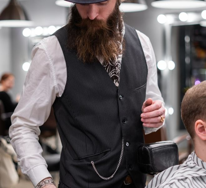WAHL Profesional Barber - Photoshooting from filming - Munchen 2