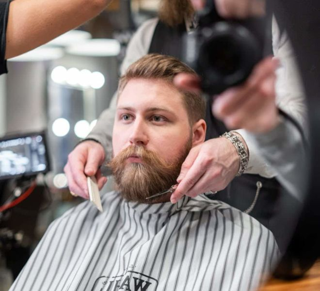 WAHL Profesional Barber - Photoshooting from filming - Munchen 8
