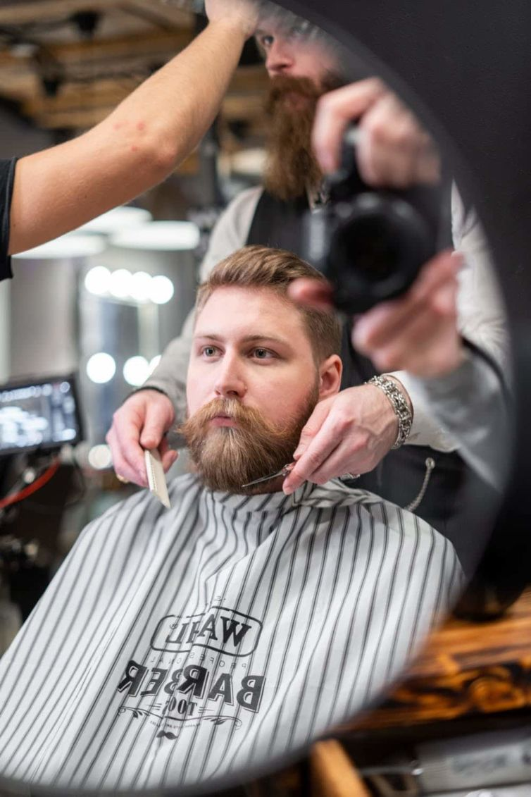 WAHL Profesional Barber – Photoshooting from filming – Munchen