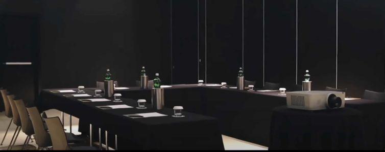 Film – Hotel Zdrojewski – conference preparation