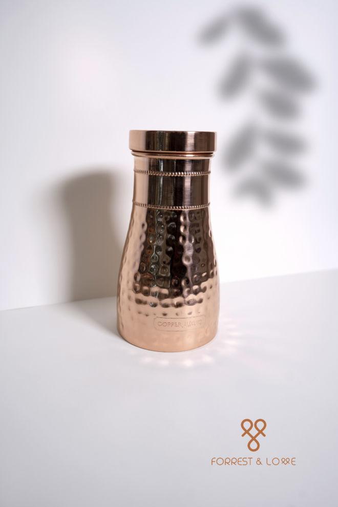 Kupferwasserspeicherflasche