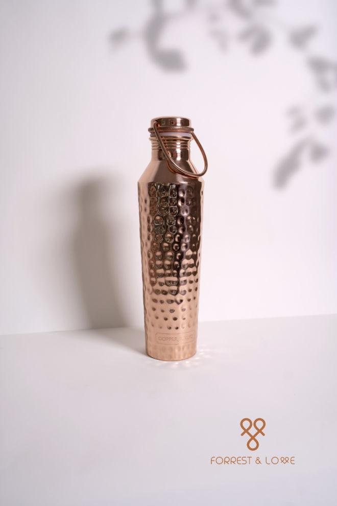 Forrest and Love - Eine schöne Kupferwasserflasche