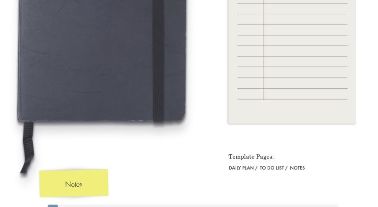 FREE DIGITAL NOTES – TO DO LIST – DAILY PLANNER