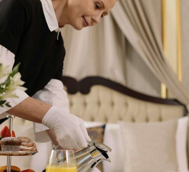 Frühstück im Münchner Zimmer