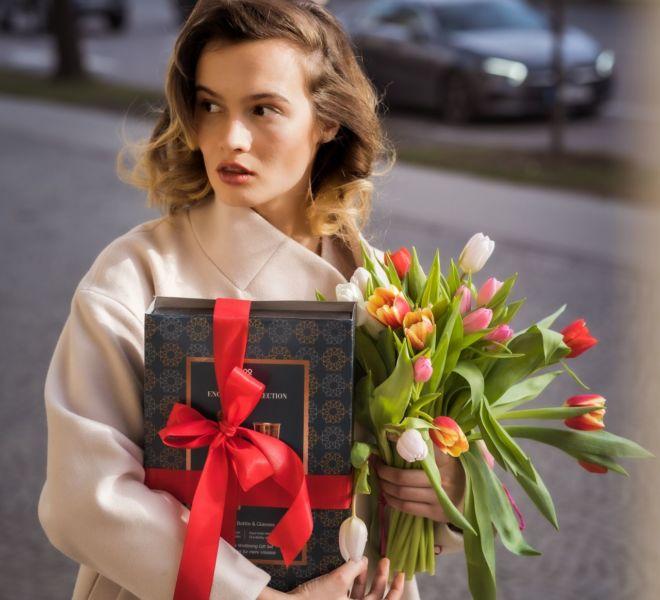 Was für ein Geschenk für eine Frau am 8. März