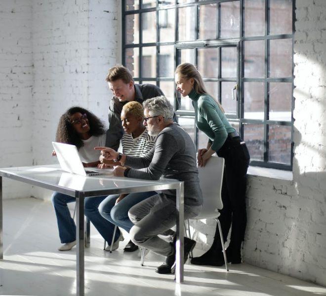 Geschäftssitzung - Atmosphäre im Unternehmen