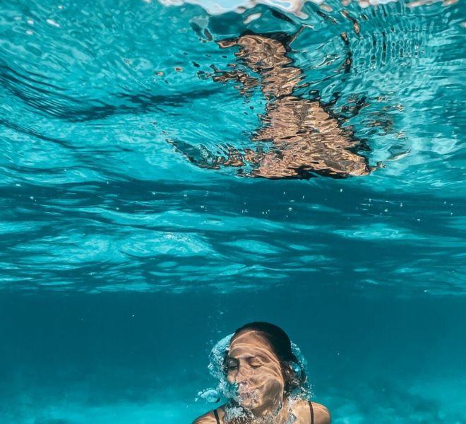 Bilder aus dem Meer Urlaub